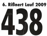 Startnummer Riessnert Lauf 2009